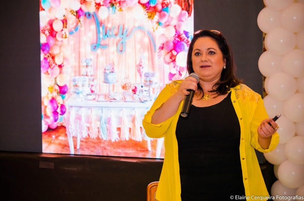 Mônica da Silva, criadora da casa de festas infantis Clube da Mônica