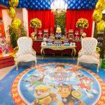 decoração de festas infantis com o tema Patrulha Canina
